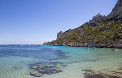 Bay Sormiou in the Calanques near Marseille in South France Stock Image