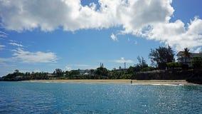 Bay of sosua. Tropical bay of sosua in the dominican republic Stock Photos
