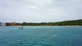 Bay of sosua. Tropical bay of sosua in the dominican republic Stock Photography