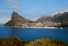 Bay in South Africa Royalty Free Stock Image