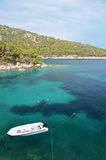 Bay on south of Hvar island, Croatia Stock Photos