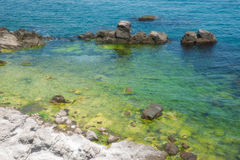 In the bay of Sozopol, Bulgaria Royalty Free Stock Images