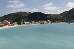 Bay in St. Martin Royalty Free Stock Images