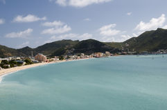 Bay in St. Martin Royalty Free Stock Image