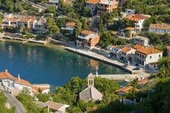 Bay Starigrad by Senj royalty free stock image