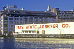 Bay State Lobster Company, Boston, le Massachusetts photographie stock libre de droits
