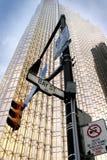 Bay street,Toronto. 's financial district Stock Photos
