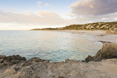 Bay Sunset stock photo