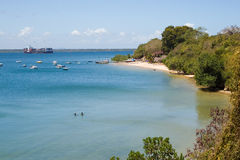 Bay at Tanga. In Tanzania Royalty Free Stock Photo