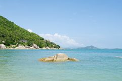 Bay Thongtakian, Koh Samui, Thailand. Royalty Free Stock Images