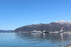 Bay of tivat Stock Images
