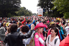 Bay to Breakers 2010, The crowd Stock Photography