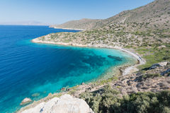 Bay in Turkey with transparent water Stock Images