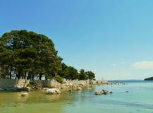 The bay of Ugljan on the island Ugljan Stock Photography