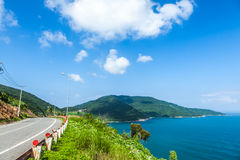 Bay under the mountain, Vietnam Royalty Free Stock Photography