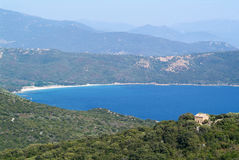 The bay of Valinco on the island of Corsica Royalty Free Stock Photography