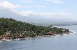 Bay in the village of Amed Stock Image