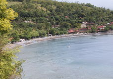 Bay in the village of Amed Royalty Free Stock Photo