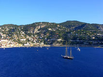 The bay of Villefranche Royalty Free Stock Images