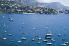 Bay of Villefranche Royalty Free Stock Photos