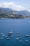 Bay of Villefranche Stock Photography