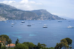 Bay of Villefranche, French Riviera Royalty Free Stock Photos