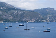 Bay of Villefranche, French Riviera Royalty Free Stock Photo
