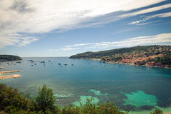 Bay of Villefranche-sur-Mer Royalty Free Stock Image