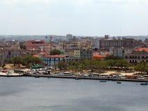 bay widok Havana Zdjęcie Royalty Free