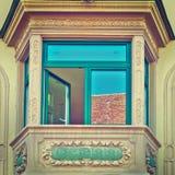 Bay Window Stock Photo
