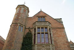 Bay window and a tower Stock Photography