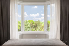 Free Bay Window With Summer View Stock Images - 52805974