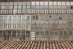 Bay Windows from Burgos Royalty Free Stock Images