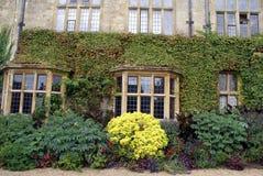 Bay windows, Sudeley Castle, Winchcombe, England Royalty Free Stock Image