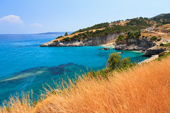 Bay of Xigia Stock Image