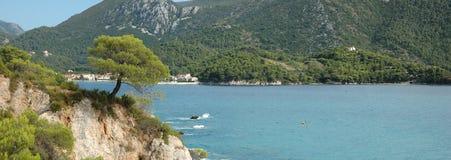 Bay of Zuljana. Bay of village Zuljana at peninsula Peljesac, Croatia Stock Image
