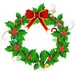 Baya de la Navidad Imágenes de archivo libres de regalías