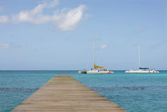 Bayahibe footbridge Stock Photos