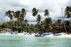 Bayahibe plaża Obrazy Stock