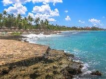 Bayahibe plaża Karaiby Obrazy Royalty Free