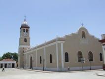 bayamo大教堂城市 免版税库存图片