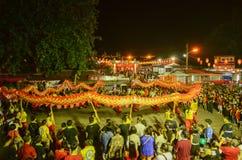 BAYAN BAR, PENANG/MALAYSIA †'Luty 02 2016: Smoka fance na Zdjęcie Royalty Free