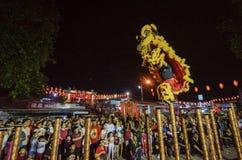 "BAYAN BARU, PENANG/MALAYSIA †""02 Februari 2016: Traditionele lio Royalty-vrije Stock Foto's"