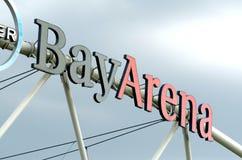 BayArena stadion futbolowy zdjęcie royalty free