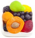 Bayas y frutas artificiales Foto de archivo
