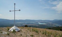 Baydarvallei, de Krim Royalty-vrije Stock Fotografie