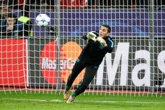 Bayer 04 Λεβερκούζεν εναντίον της Βαρκελώνης Champions League Στοκ Φωτογραφίες