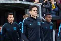 Bayer 04 Леверкузен против Барселоны Champions лига Стоковые Изображения