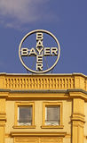 Bayer AG Germany. Bayer AG is a global enterprise with core competencies in the fields of health care, nutrition and high-tech materials. Headquater located in Stock Photo