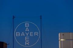 Bayer AG Leverkusen Obrazy Royalty Free